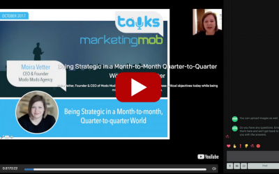 Being Strategic in a Month-to-Month, Quarter-to-Quarter World